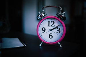 pink clock 300x200 - pink clock